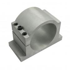 100mm Bracket Seat CNC Carving Machine Clamp Motor Holder Cast Aluminum Sandblasting Surface Match Use with Screws