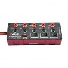 eFUEL Power Strip Distribution Power Supply to Five Electrical Devices 10 A