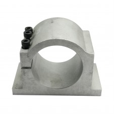 CNC 80MM Dia Main Axis Motor Base Clamp Aluminum for Carving Machine