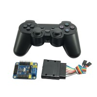 USB 24 CH Servo Control Module & Wireless Handle Controller for Arduino Robot