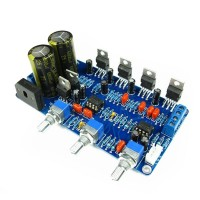 TDA2030A 2.1 Stereo Audio Amp 2 Channel Amplifier Subwoofer Amplifier Board (DIY Kits)