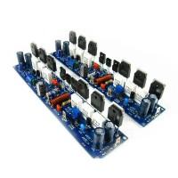 2pcs L10-1 300W+300W Amplifier Dual Channel Class AB Assembled 2 Channel 8Ohm