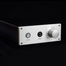 H-2 A Class Headphone Amplifier HIFI HD650 HD600 K701 Aluminum Case 6800UF Capacitor