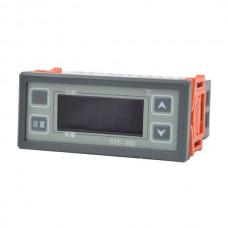 Mini Digital 24V Regulator Temperature Controller STC-200 Thermostat  LCD Whit Sensor