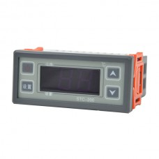 Mini Digital 220V Regulator Temperature Controller STC-200 Thermostat  LCD Whit Sensor