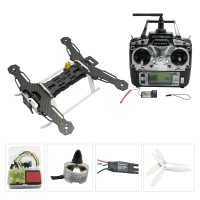 Tarot QAV250 Carbon Fiber Quadcopter TL250A with MT1806 Motor & CC3D & TX RX & XRotor 10A ESC for FPV Photography Combo