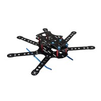 FCM360L-6Z 360mm 6-Axis Fiberglass FPV Hexacopter Frame Kit w/Landing Gear