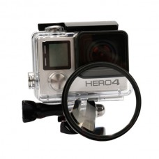 Gopro hero4 hero3+ 52mm Close up Lens Microlens Filter Lens