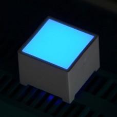15*15mm LED Square - Blue Diode Illuminous Square Cube
