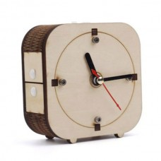 Back in Time – counter-clockwise Wooden DIY Clock Kits