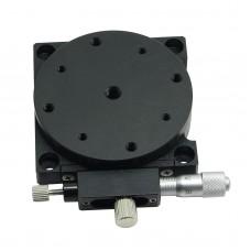 R-axis RS60-R L-shape Rotation Sliding Table Platform Micrometer Manual