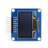 SH1106 1.3 inch OLED Screen Module 12864 Blue Curved Cable Pin