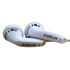 ZEN Earphone Earplug Type High Resistor 320ohm Silver Jacketed Wire HIFI Flat Head Fever PK1