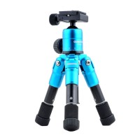 Color Mini Foldable Micro Table Tripod DSLR Camera Tripod w/Camera Mount Adapter