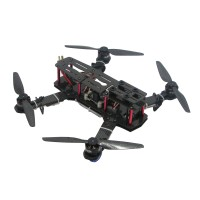 250mm Carbon Fiber 4 Axis Mini Quadcopter + CC3D Flight Controller & QAV2204 Motor & Hobbywing 10A ESC