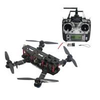 250mm Carbon Fiber 4 Axis Mini Quadcopter + CC3D Flight Controller & TX RX & RcinPower MT2204 & Hobbywing 10A ESC