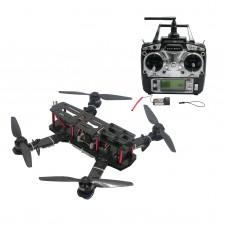250mm Carbon Fiber 4 Axis Mini Quadcopter + CC3D Flight Controller & TX RX & MT2204 & HobbyWing 10A ESC