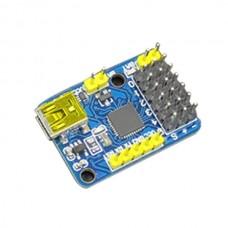 Arduino USB mini 6 Channel Servo Controller Board for Robot Mechanical Arm Servo Controlling