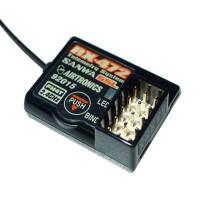 SANWA MT4S Receiver RX-472 w/ MT-4/ M11X/ M12 FH3/ FH4T Remote Controller