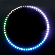 CJMCU-WS2812-60 Byte Full Color Driving LED Color Light Ring Wall Clock Ring Light 1/ 4