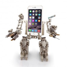 Metal Fort BL207 Transformer Kits Nickelage Phone Holder Case for DIY Learner Toy Boy Gift
