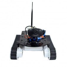 WiFi Robot Smart Car Kits HD Camera & 9G Servo & Two Infrared Sensors for Remote Control Car Competition