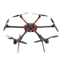 IFLIGHT B850 Carbon Fiber Foldable Hexacopter Frame Kits for FPV Photography