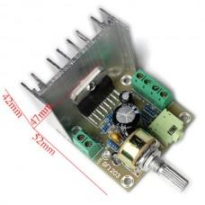 XH-M147 TDA7297 2.0 Dual Channel Assembled Amplifier Board 15W+15W Large Volume