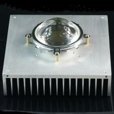 50/100W LED Light Cooling Fin Aluminum Anodic Oxidation