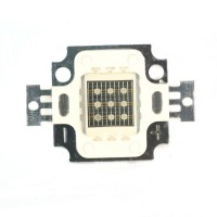 3PCS (Three Serial Connection Three Parallel Connection) Large Power Green Highlight LED Integrated Light Diode