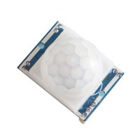3PCS HC-SR501 Human Body Infrared Sensing Module Detector w/ Lens