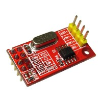 AD7705 Dual 16 bit ADC Data Acquisition Module Input Gain Programmable SPI Interface TM7705