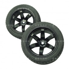 4PCS 1/10 Professional Wheel Tire w/ Sponge Inner Tank for Racing Car Competition