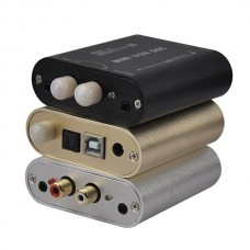 ZHILAI Audio H4 PC Digital Decoder DAC PC HiFi Sound Card USB Optical Fiber Coaxis Signal Input