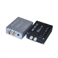 ZHILAI Audio H5 PC Digital USB Sound Card DAC Decoder Optical Fiber Coaxis Analog Signal Output