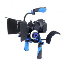 5D3 DSLR Shooting Kits Sunshade Cover Handle for Camera Shooting