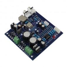 USB PCM2706 S4398 Decode Board CS4398 PCM2706 2*3300UF