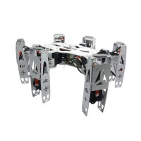 Metal Hexapod Spider RC Robot Frame Kits Basic Configuration w/ Handle & WIFI Camera