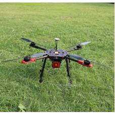 Tarot 650 Sport Quadcopter TL65S01 with Naza V2(GPS) & Tarot 4114 320KV Motor & 30A ESC & Propeller for FPV Photography