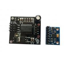 MPU6050 Three Axis Acceleration Control Servo Gravity Sensing Servo Control