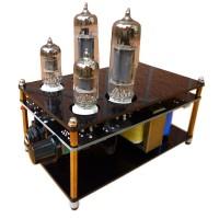 Douk Audio 6J1+6P1 Power Stereo Pre-AMP HIFI Tube Headphone Amplifier DIY 220V