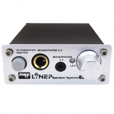 Professional Microphone Amplifier Dual Microphone Amplifier Computer Microphone Amplifier Microphone Reverb