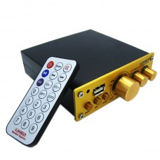 50W Digital Power Amplifier Family Use HIFI Amp for Playing Music