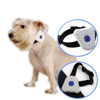Ultrasonic Full Automatic Dog Traninner Stop Barking Electronic Shock Waterproof Neck Ring