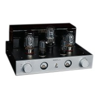 300B Pure A Class Amplifier Stainless Steel Case Four Channel Sound Source Switch