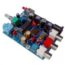 DAC Digital Decode Board Coaxial Digital Signal Input Output Analog Signal w/ Headphone Output Jack