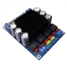 STA508 Large Power Stereo Digital Amp Board 80W*2 T Class Single Power Supply 12V Amp Assebled Board Black