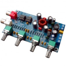 LM258P Fever Amplifier PreampTone Plate Car Use DC 12V External Connection Board