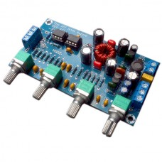 LM258P Fever Amplifier PreampTone Plate Car Use DC 12V Internal Connection Board