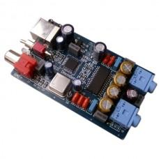 DAC Decoder PCM2706 TDA1305 PC USB Sound Card Headphone Amplifier Advanced Version